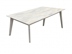 Стіл Нордік G/ Nordik G журнальний, дерев'яний обідній кухонний (Грамма ТМ), Дуб,…