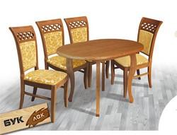 Стіл Ельза / Elza дерев'яний обідній кухонний (Грамма ТМ), Дуб, 9 кольорів