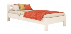 Дерев'яне ліжко РЕНАТА ТМ Естелла, матеріал бук, основа ламелі, 8 кольорів