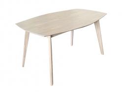 Стіл Нордік R/ Nordik R дерев'яний обідній кухонний (Грамма ТМ), Дуб, 9…