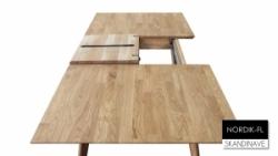 Стіл Нордік G/ Nordik G розкладний ( метелик ) , дерев'яний обідній кухонний (Грамма ТМ), Дуб, 10  кольорів